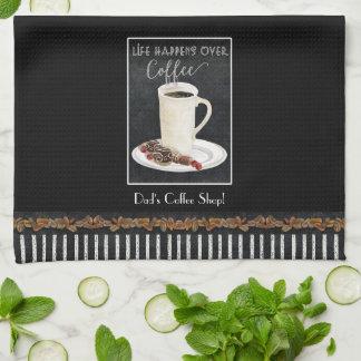 Latte Mug Dessert Coffee Chocolate Kitchen Decor Kitchen Towel