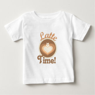 Latte Time Baby T-Shirt