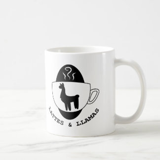 Lattes and Llamas Logo Mug