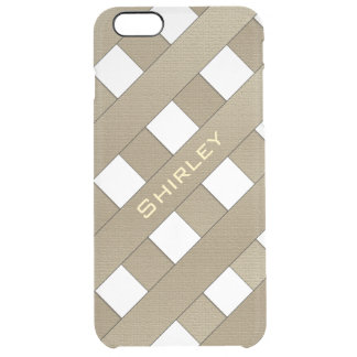 Lattice Fence by Shirley Taylor Clear iPhone 6 Plus Case