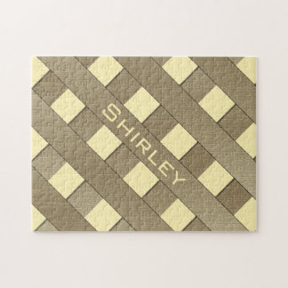 Lattice Fence by Shirley Taylor Jigsaw Puzzle