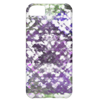 Lattice Floral Soft Purples iPhone 5 Case