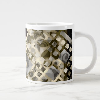 Lattice Large Coffee Mug