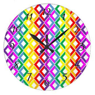 Lattice Rainbow Clocks