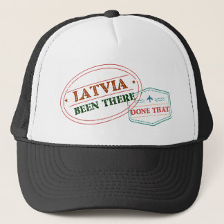 Latvia Been There Done That Trucker Hat