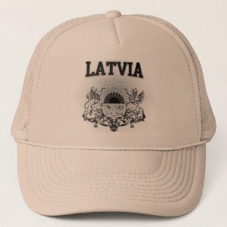 Latvia  Coat of Arms Trucker Hat