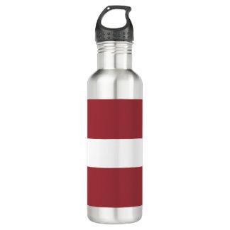 Latvia Flag 710 Ml Water Bottle