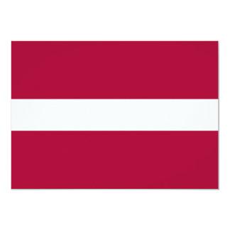 Latvia Flag Card
