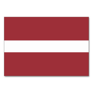 Latvia Flag Card