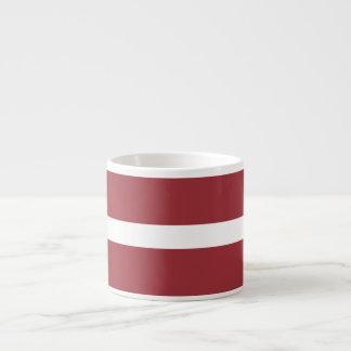 Latvia Flag Espresso Cup