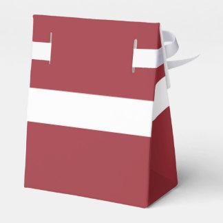 Latvia Flag Favor Box