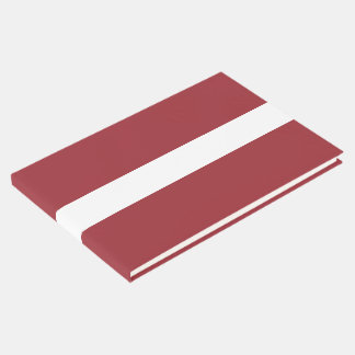 Latvia Flag Guest Book