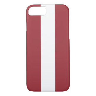 Latvia Flag iPhone 8/7 Case