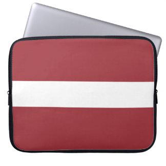 Latvia Flag Laptop Sleeve