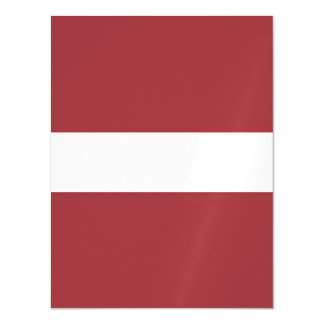 Latvia Flag Magnetic Card