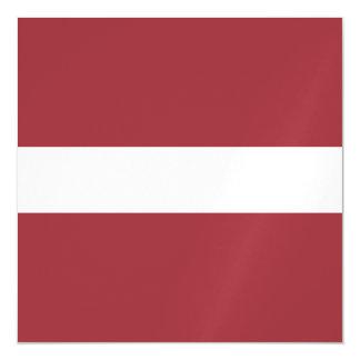 Latvia Flag Magnetic Invitations