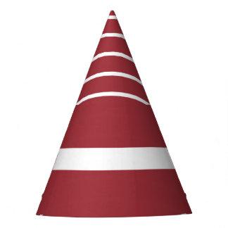 Latvia Flag Party Hat