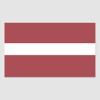 Latvia Flag Stickers* Sticker