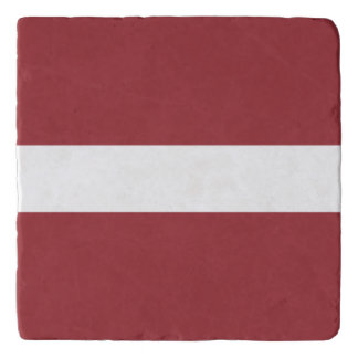 Latvia Flag Trivet