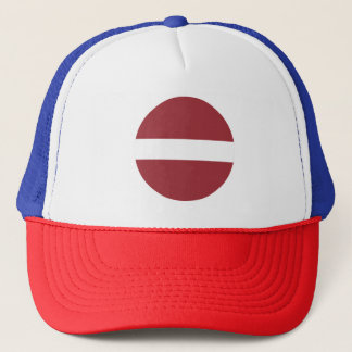 Latvia Flag Trucker Hat