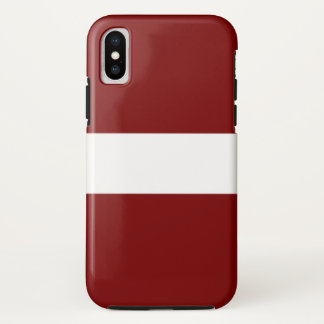 Latvia iPhone X Case