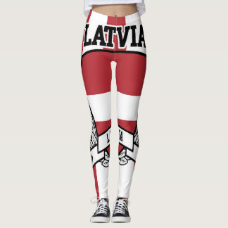 Latvia Leggings