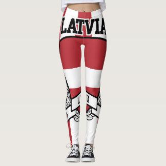 Latvia Leggings