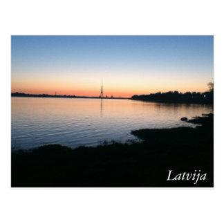 Latvia Postcard