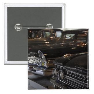 Latvia, Riga, Riga Motor Museum, cars of the Pinback Buttons