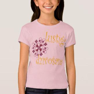 Latvian childs sun t-shirt