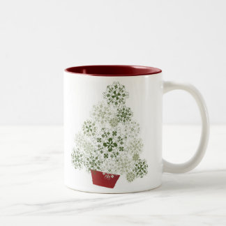 Latvian Christmas tree mug