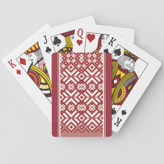 Latvian playing cards