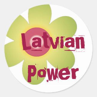 Latvian Power sticker