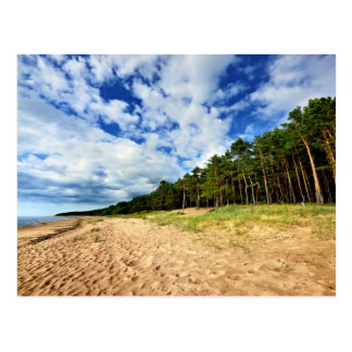 Latvia'S Baltic Sea Shore Postcard