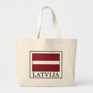 Latvija Large Tote Bag
