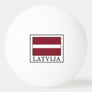 Latvija Ping Pong Ball
