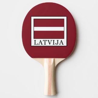 Latvija Ping Pong Paddle