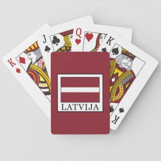 Latvija Playing Cards