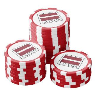 Latvija Poker Chips