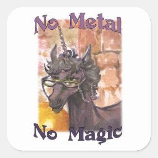 Lauda No Metal No Magic Stickers