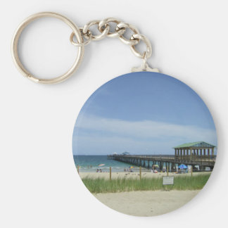 Lauderdale by the Sea, Fort Lauderdale Florida Basic Round Button Keychain