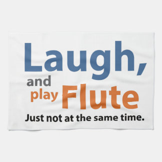 Laugh and Play Flute Towels