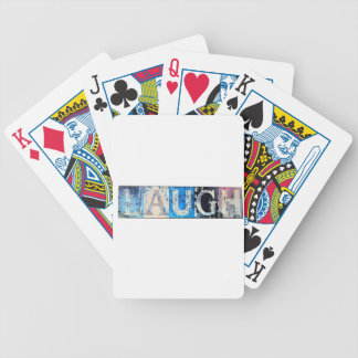 Laugh Bicycle Playing Cards