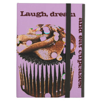 laugh, dream and eat cupcakes case for iPad air
