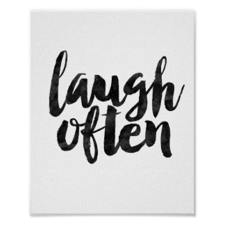 Laugh Often Poster