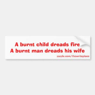 laugh out loud bumper sticker