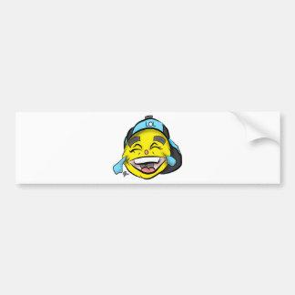 Laugh Out Loud Emoji Bumper Sticker