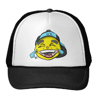 Laugh Out Loud Emoji Trucker Hat