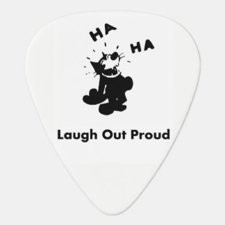 Laugh Out Proud Guitar Pick