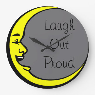 Laugh Out Proud Large Clock